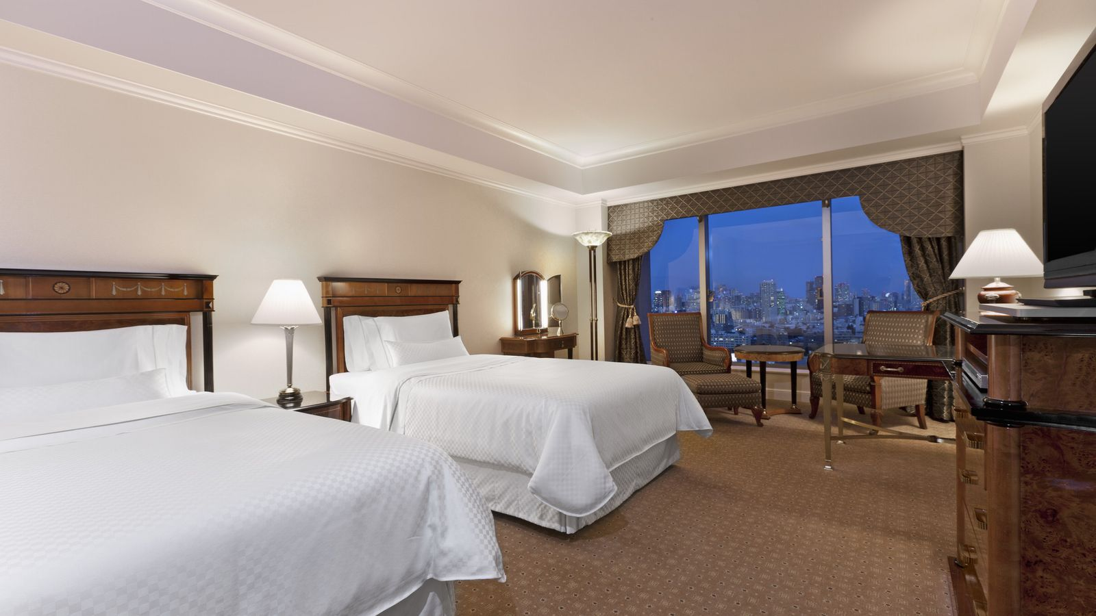 City View Executive Twin Rooms
