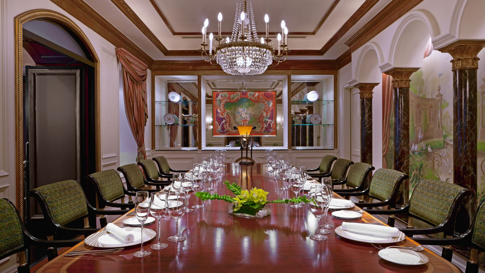 Victor's - French Restaurant - Private Dining Room